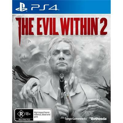 The Evil Within 2 PS4 Playstation 4 Game -Open Box