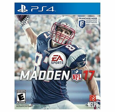 PS4 MADDEN NFL 17 Playstation 4 USED