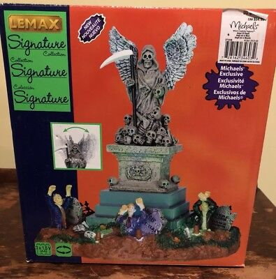 Lemax Spooky Town Village- Angel Of Death (2014) In Box