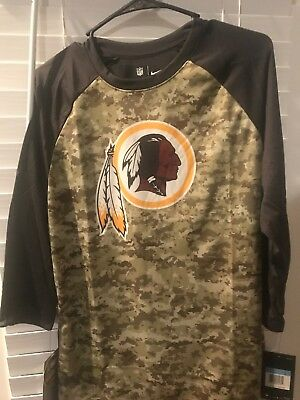 purchase cheap 1324c 4fef1 NWOT $35 NIKE Women's NFL Apparel Washington Redskins 3/4 ...