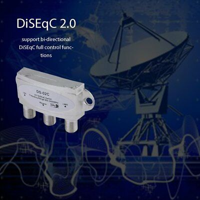 DiSEqC Switch 2 in 1 (satellite two-in-one switch) DS-02C  satellite receiver AA
