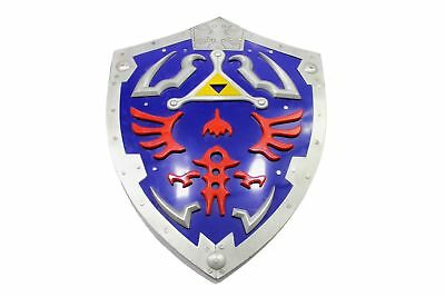 ZELDA TRIFORCE METAL SHIELD - LINK VIDEO GAME AWAKENING TIME LEGEND OF Zelda