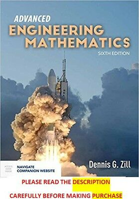 Advanced Engineering Mathematics by Zill 6th International Softcover Ed Same Bk