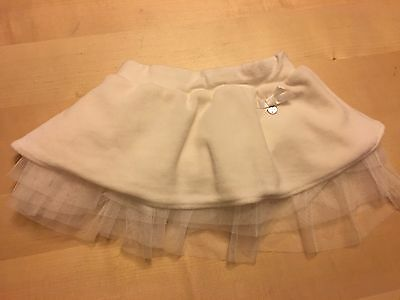 Silvian Heach Tutu Style Skirt, Off-white/cream Color, 9-12 Months, Really Cute!