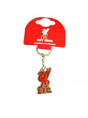 Liverpool Fc Lfc Club Crest Metal Keyring Key Ring Keychain Gift Fathers Day