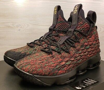 finest selection e41b5 bf9a3 NIKE LEBRON XV 15 LMTD BHM Multicolor Black History Month 897650-900 Size 9