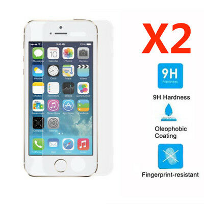 2X Premium Screen Protector Tempered Glass Protective Film Guard For iPhone 6 6S
