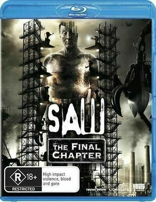 SAW The Final Chapter - Blu-Ray Movie- BRAND NEW SEALED - AUS SELLER