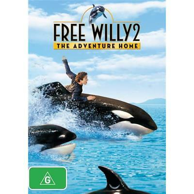 Free Willy 2: The Adventure Home- DVD AUS PAL REGION 4 - BRAND NEW SEALED