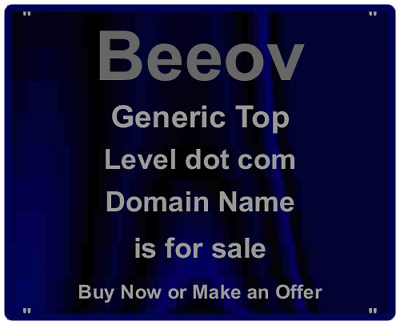 Domain Auctions:  Beeov.com  - 5 Letters - Perfect for Start Ups is For Sale -