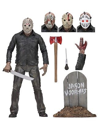 """NECA Friday the 13th - 7"""" Scale Action Figure - Ultimate Part 5 Jason Voorhees"""