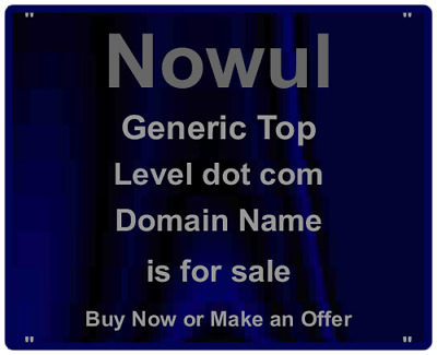 Brand Domain Name For Sale - 5 Letters - nowul.com - Premium Domain At