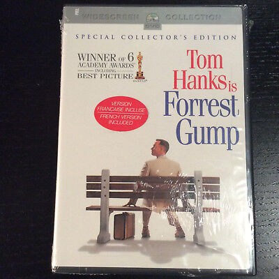 FOREST GUMP DVD Special Collector's Edition 2-Disc Set Tom Hanks Forest