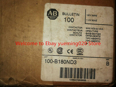 Ship dhl , AB Allen Bradley 100-B180ND3 Contactor ,New in box