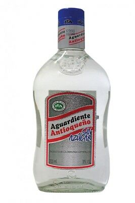 Aguardiente ANTIOQUENO sin Azucar 29% vol.