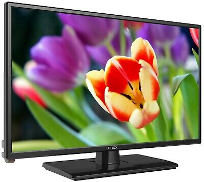 "Enox LL-0222ST2 - 22"" LED TV mit Triple Tuner, 12/24V, DVD Player, DVB-S2/T2"