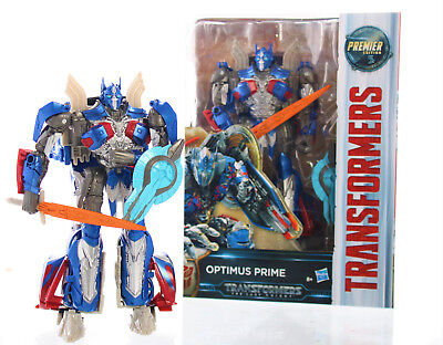 Hasbro Transformers Actionsfigur Movie 5 Premier Voyager Optimus Prime Figur