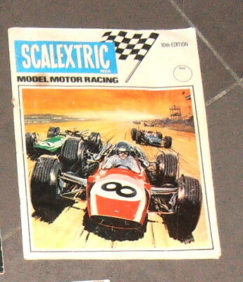 Scalextric Catalogue Number 10 Slot Cars Scx.. Good