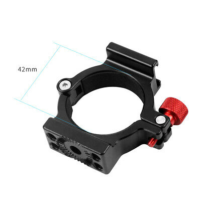 BGNING 4-Ring Hot Shoe Adapter Ring Microphone Mount for Zhiyun Smooth 4  Gimbal