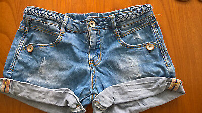 ZARA * SHORTS* HOSE*Gr 152*11/12 anni* *wNEU* *COUTURE* LOOK * STRETCH*MEGA COOL