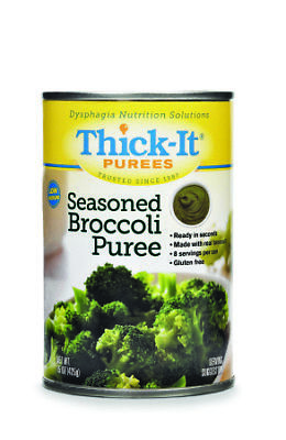 Thick-It Puree: Seasoned Broccoli, Size:(1 case: 12 x 15 oz. cans)