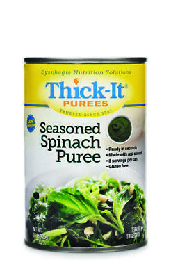 Thick It Seasoned Spinach Puree, 15 Ounce -- 12 per case.