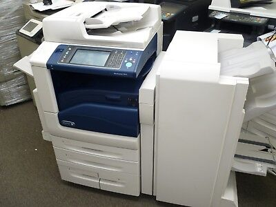 XEROX WORKCENTRE 7845 Colour ALL-IN-ONE Printer With Booklet Finisher - ONLY 12K