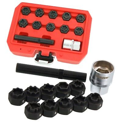 Mercedes Benz Locking Wheel Nut Remover Installer 12pcs Master Kit Lots Models