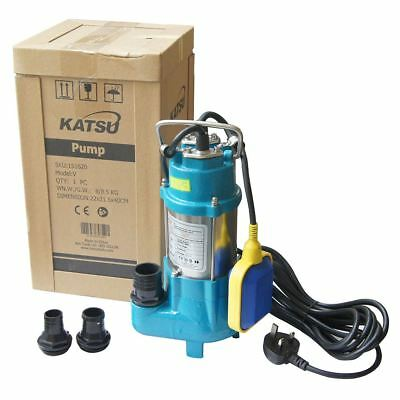 151620 Heavy Duty 180W Submersible Sewage Dirty Waste Water Pump Floating Switch