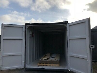21x8 Ft Anti Vandal Store secure store Storage Container Light Electrics