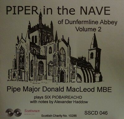 Scottish Bagpipe Music PM Donald MacLeod 'Piper in the Nave' Scotsoun SSCD 046