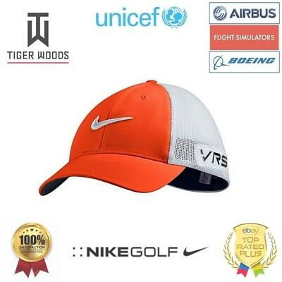 [UNICEF] TIGER WOODS GOLF CAP M/L RED Nike Golf Hat TW Kappe ROT