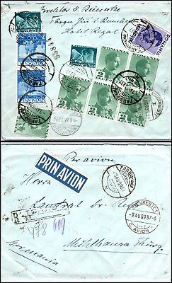 Goldpath: Romania cover 1937, to Germany _CV23_P9