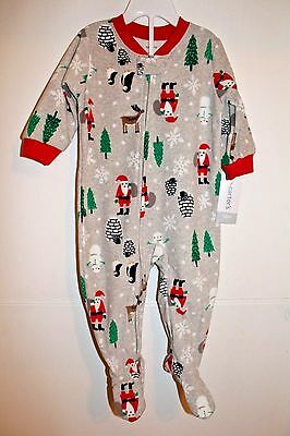 d61a8f6ec CARTERS BABY BOY Girl Christmas Penguin Pajamas One Piece 6 months ...