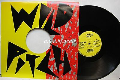 """The Power - Power Jam Feat. Chill Rob G - Wild Pitch Records   LP 12"""" (VG)"""