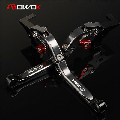 Motorcycle Adjustable Folding Extendable Brake Clutch Lever For SYM CRUISYM 300