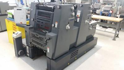 2002 Heidelberg Pm 52-2, Easy Plate Loader,  Cp Tronics Front Console