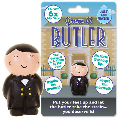 Grow A Butler Novelty Toy Work Office Gift Party Xmas Christmas Stocking Filler