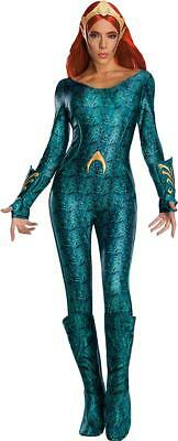DC Aquaman Movie Deluxe Mera Adult Secret Wishes Costume - Large