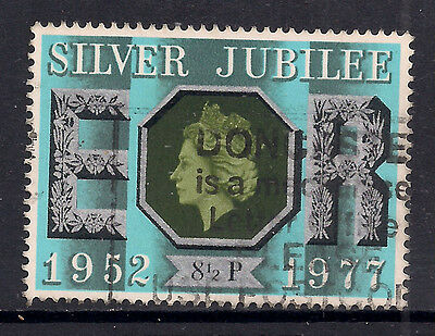 GB 1977 QE2 8 1/2p Silver Jubilee Used Stamp SG 1033.( M853 )