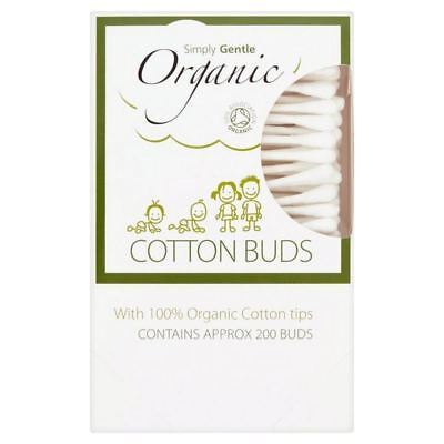 4x Simply Gentle Organic Cotton Buds 200 per pack