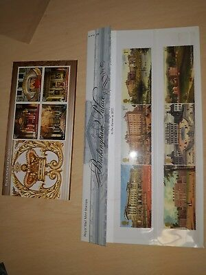 Royal Mail Mint Stamps Buckingham palace 2014