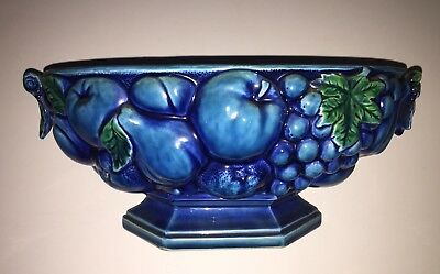 Inarco Japan Vintage Blue Soup Tureen