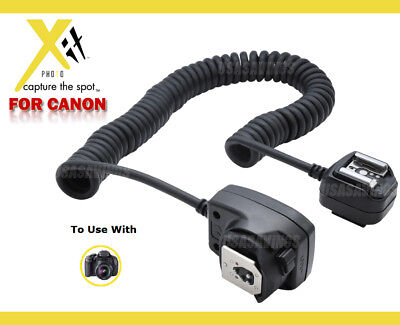 Off Camera Shoe Cord XIT  for Canon Rebel XT XTi XSi X XS 2000 G GI