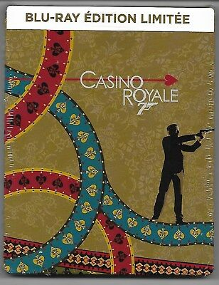 007 - Casino Royale / Blu-Ray Steelbook Neuf sous blister - VF