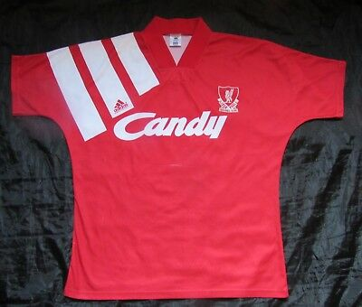 RETRO 1991-92 The Reds FC LIVERPOOL home shirt jersey ADIDAS Candy adult SIZE L