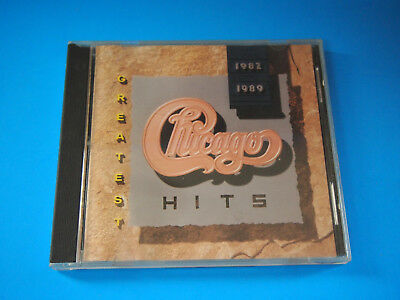 075992608022Chicago - Greatest Hits: 1982-1989 CD