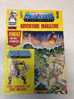 Masters Of The Universe Adventure Magazine Issue Number 12