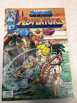 Masters Of The Universe Adventure Magazine Issue 13  1989 Vintage