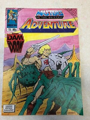 Masters Of The Universe Adventure Magazine Issue No. 15 Vintage 1989